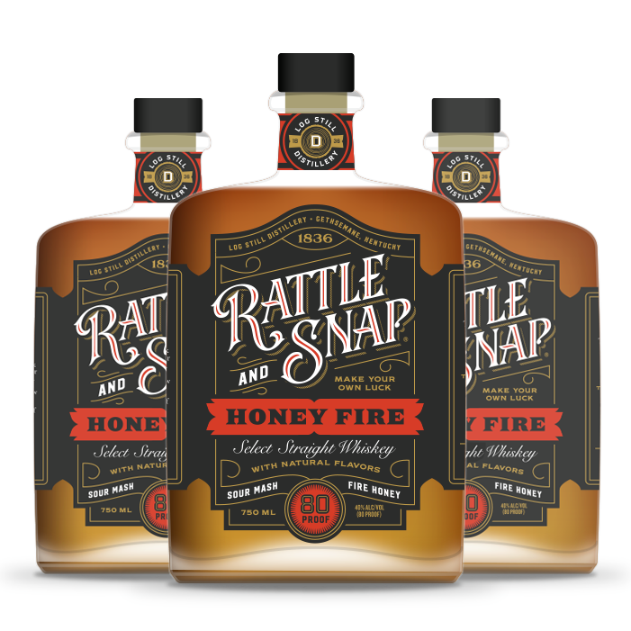 Rattle And Snap Honey Fire TN Whiskey