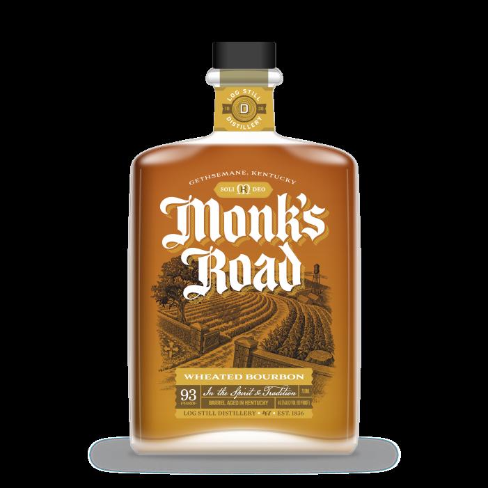 Monk's Road Wheated Bourbon bottle